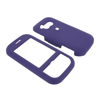 LG Neon GT365 Rubberized Hard Case - Purple