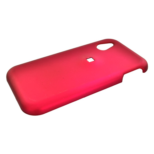 LG Arena GT950 Rubberized Hard Case - Rose Pink