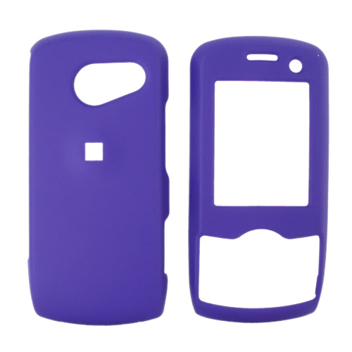 LG LX370 Rubberized Hard Case - Purple
