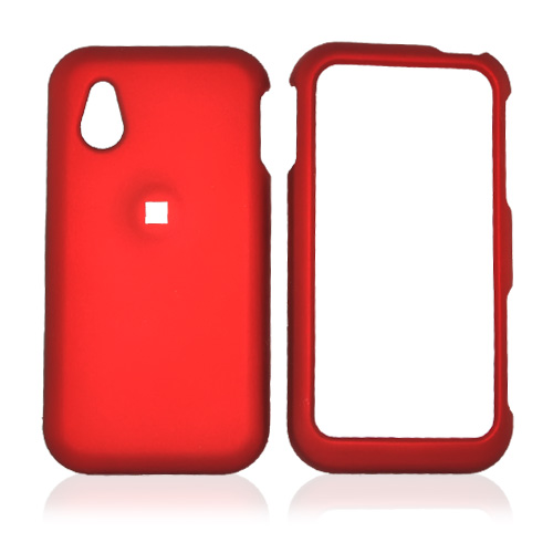 LG Opera TV Rubberized Hard Case - Red