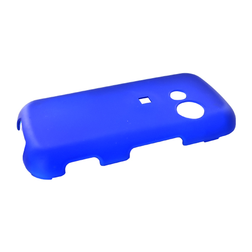 LG Cosmos VN250 Rubberized Hard Case - Blue