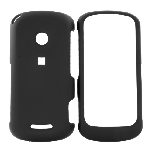 Motorola Crush Rubberized Hard Case - Black