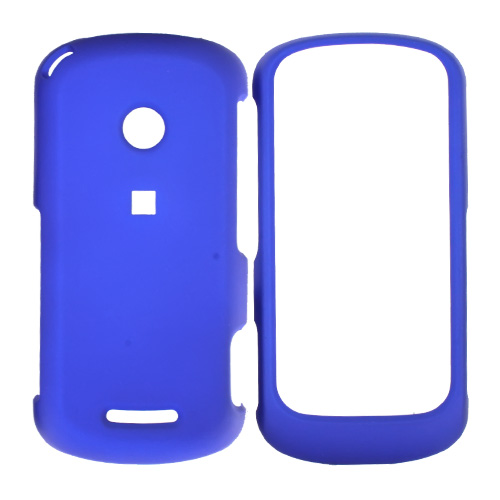 Motorola Crush Rubberized Hard Case - Blue