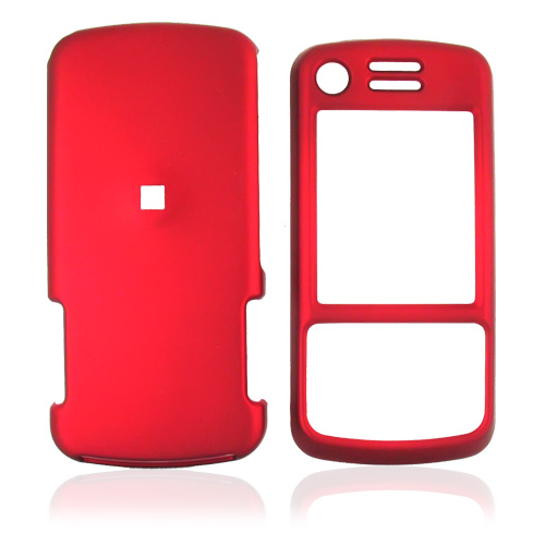 Motorola Debut i856 / Slider i856 Rubberized Hard Case - Red