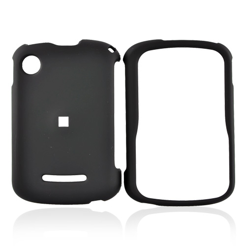 Motorola QX404 Rubberized Hard Case - Black