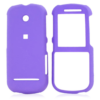 Motorola VE440 Rubberized Hard Case - Purple