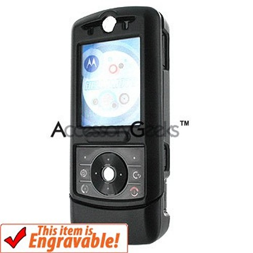 Motorola RIZR Z3 Rubberized Case - Black