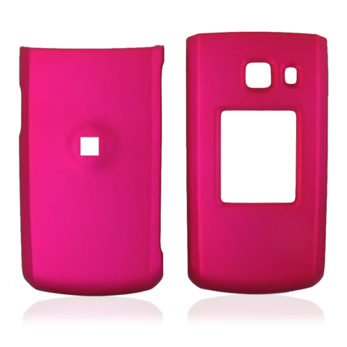Nokia Shade 2705 Rubberized Hard Case - Rose Pink