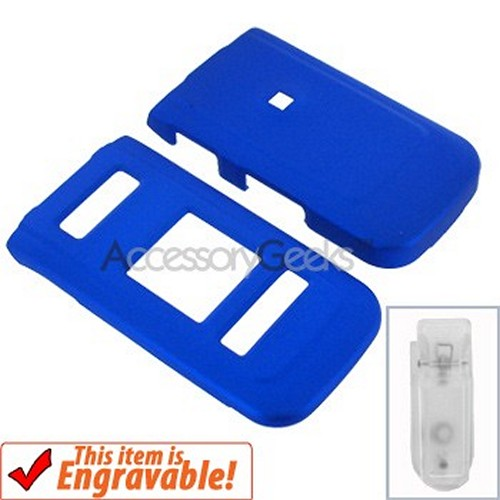 Nokia 6205 Rubberized Hard Case - Blue