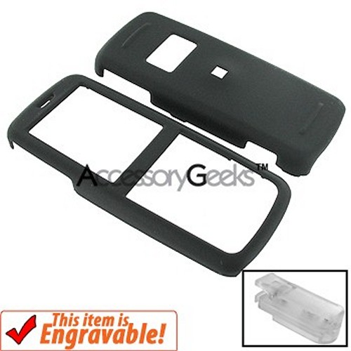 Nokia 6275 Rubberized Hard Case - Black