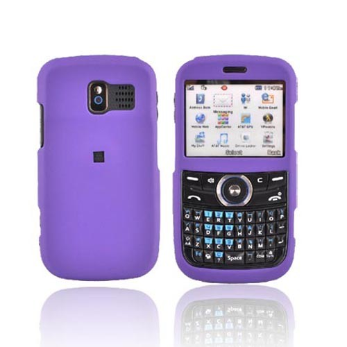 Pantech Link P7040 Rubberized Hard Case - Purple