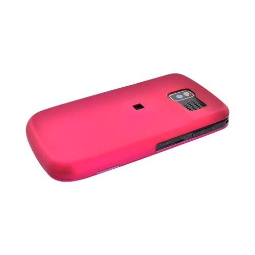 Pantech Link P7040 Rubberized Hard Case - Rose Pink
