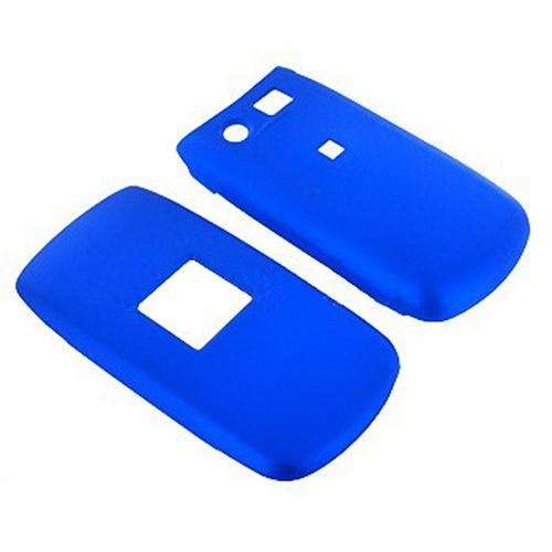Pantech Breeze Rubberized Hard Case - Blue