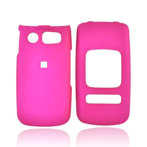 Pantech Breeze II Rubberized Hard Case - Rose Pink