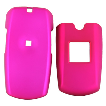 Samsung A167 Rubberized Hard Case - Rose Pink