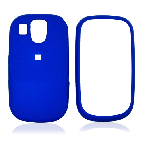 Samsung Flight A797 Rubberized Hard Case - Blue