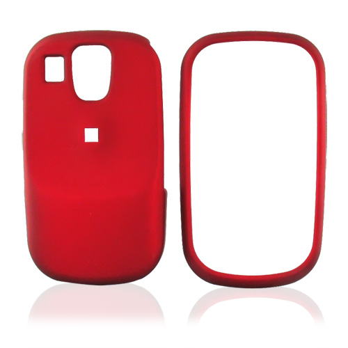 Samsung Flight A797 Rubberized Hard Case - Red