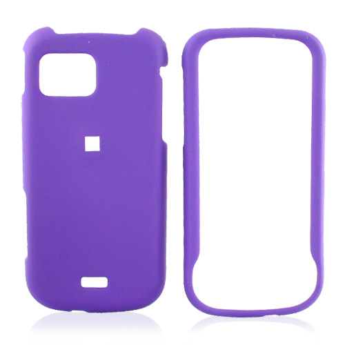 Samsung Mythic A897 Rubberized Hard Case - Purple