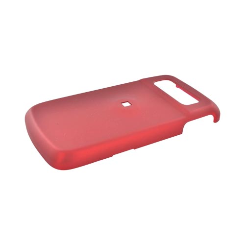 Samsung Exec i225 Rubberized Hard Case - Red