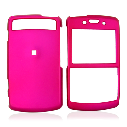 Samsung Intrepid i350 Rubberized Hard Case - Rose Pink