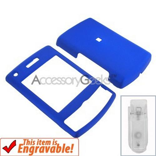 Samsung Propel Pro Rubberized Hard Case - Blue