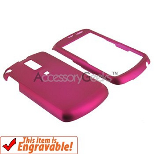 Samsung Jack i637 Rubberized Hard Case - Rose Pink