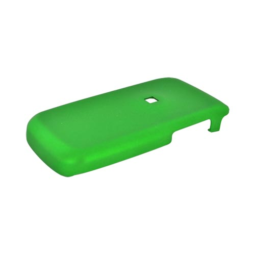 Samsung Mantra M340 Rubberized Hard Case - Green