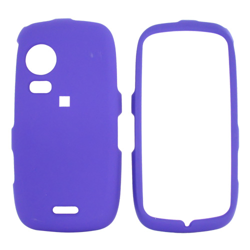 Samsung Instinct HD M850 Rubberized Hard Case - Purple