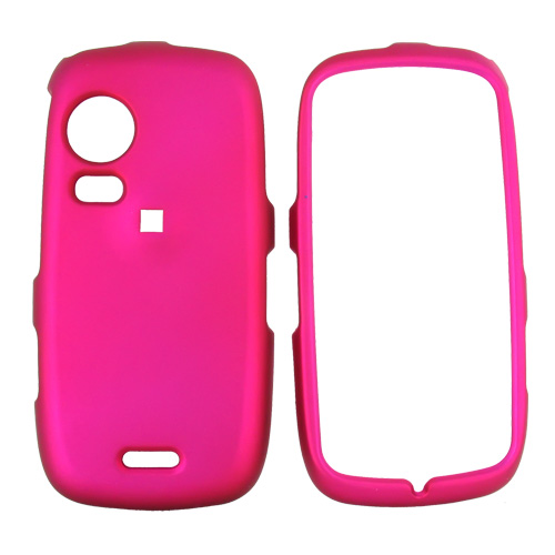 Samsung Instinct HD M850 Rubberized Hard Case - Rose Pink