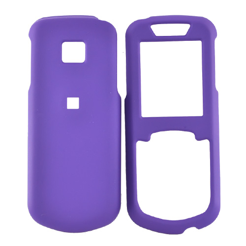Samsung Stunt R100 Rubberized Hard Case - Purple