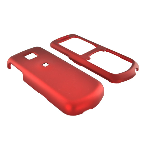 Samsung Stunt R100 Rubberized Hard Case - Red