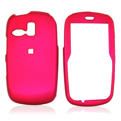 Samsung Freeform R350/R351 Rubberized Hard Case - Rose Pink