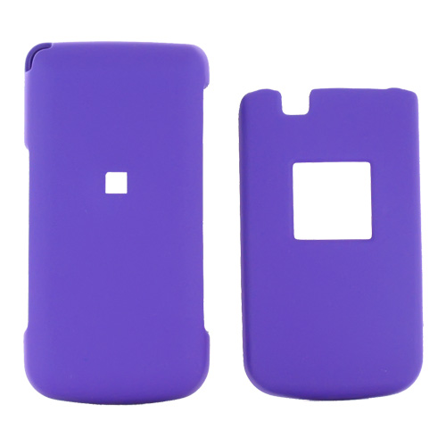 Samsung MyShot 2 R460 Rubberized Hard Case - Purple