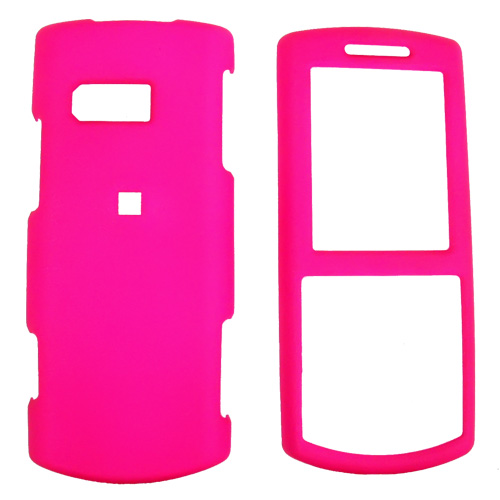 Samsung Messager II R560 Rubberized Hard Case - Hot Pink
