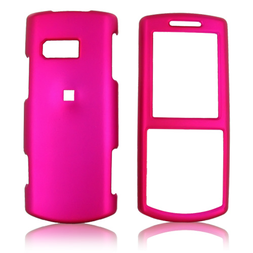 Samsung Messager II R560 Rubberized Hard Case - Rose Pink