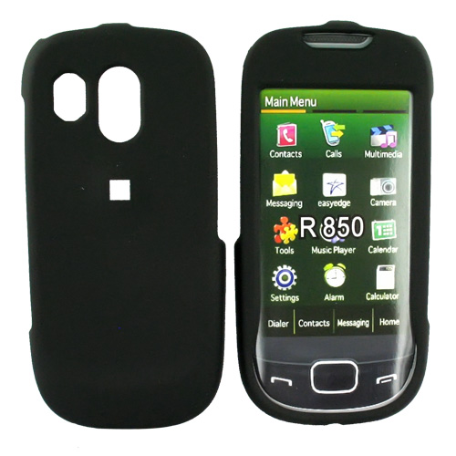 Samsung Caliber R850 Rubberized Hard Case - Black