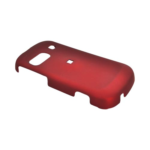 Samsung Craft R900 Rubberized Hard Case - Red