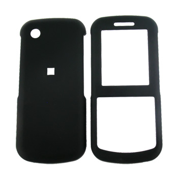 Samsung T349 Rubberized Hard Case - Black