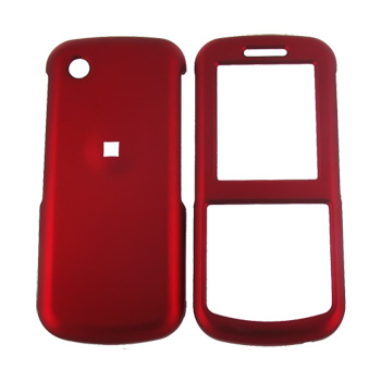 Samsung T349 Rubberized Hard Case - Red