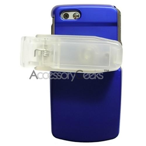 Samsung T819 Rubberized Hard Case - Blue