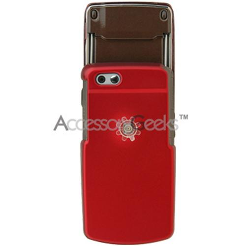Samsung T819 Rubberized Hard Case - Red