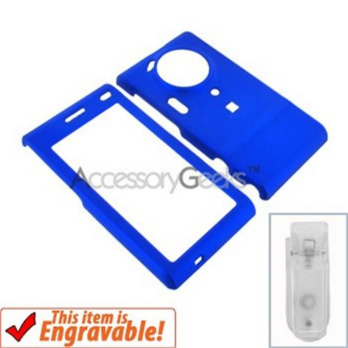 Samsung T929 Memoir Rubberized Hard Case - Blue