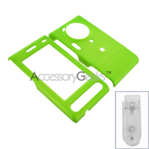 Samsung Memoir Rubberized Hard Case - Neon Green