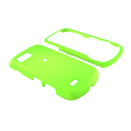Samsung Behold II T939 Rubberized Hard Case - Neon Green