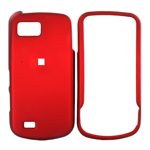 Samsung Behold 2 T939 Rubberized Hard Case - Red
