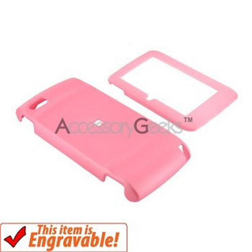 T-Mobile Sidekick LX 2009 Rubberized Hard Case - Baby Pink