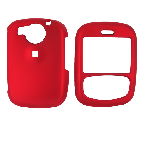Cricket TXTM8 Rubberized Hard Case - Red
