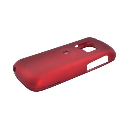 ZTE Agent E520 Rubberized Hard Case - Red
