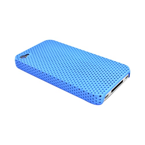 Apple iPhone 4 Back Cover Hard Case - Light Blue