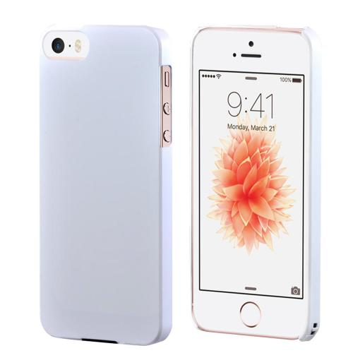 [Apple iPhone SE/5/5S] Case,  [Pearl Matte]  Premium High Impact Resistant  Ultra Slim Rubberized Hard Case